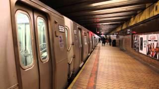 MTA New York City Subway Jamaica-179 Street Bound R160A-1 (F) Express Train @ 21 Street-Queensbridge