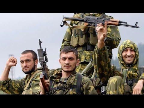 Грузин о чеченцах на Востоке Украины: Это шакалы! Славянск Донецк Donetsk Sloviansk