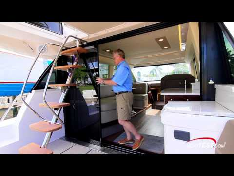 Regal 42 Fly (2017-) Test Video - By BoatTEST.com