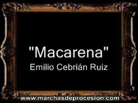 Macarena - Emilio Cebrián Ruiz [BM]