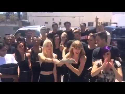 Taylor Swift Ice bucket challenge