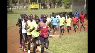 KIPCHOGE TRAINING FOR LONDON MARATHON 2018
