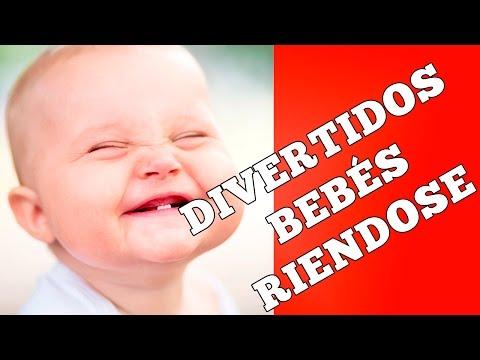 Divertidos videos graciosos de bebes riendose • Compilación de bebés riendose