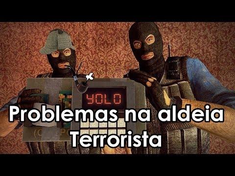 Problemas na Aldeia Terrorista (Gmod TTT) #2