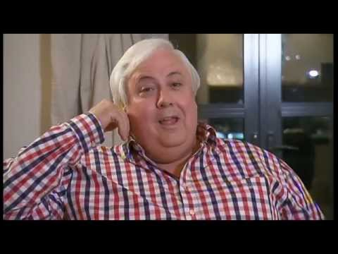 Clive Palmer walks out of Sarah Ferguson 7.30 interview