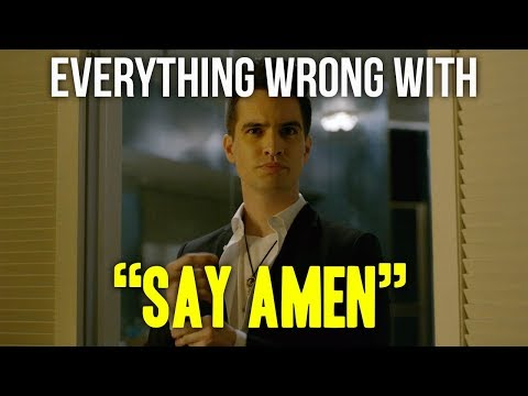 Everything Wrong With Panic! At The Disco - Say Amen