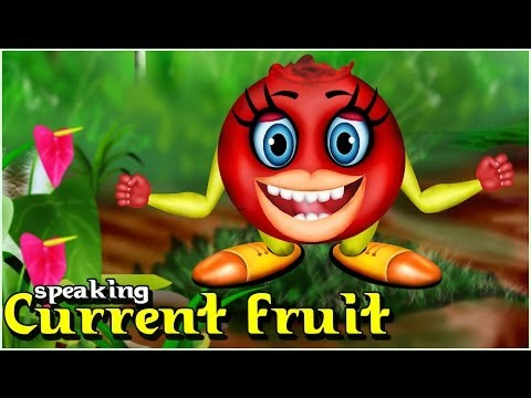 Kids Animated Movie - Speaking Current Fruit - Movie For Kids video