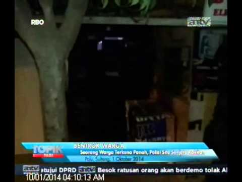 [ANTV] TOPIK Seorang Warga Terkena Panah, Polisi Sita Senjata