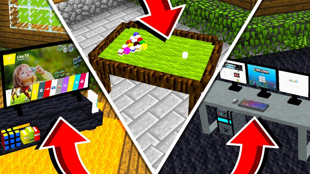 5 ITEMS THAT AREN'T IN CREATIVE MODE!