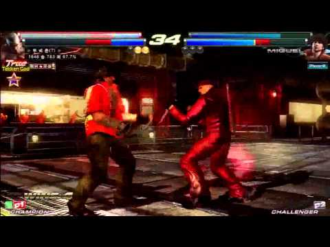 TEKKEN TAG2 UL 3/26 KNEE VS TEKKEN USERS