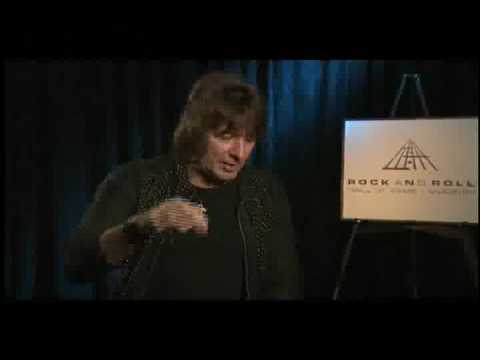 Richie Sambora talks about playing at AMM 2008