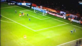Wesley Sneijder amazing pass (Galatasaray)