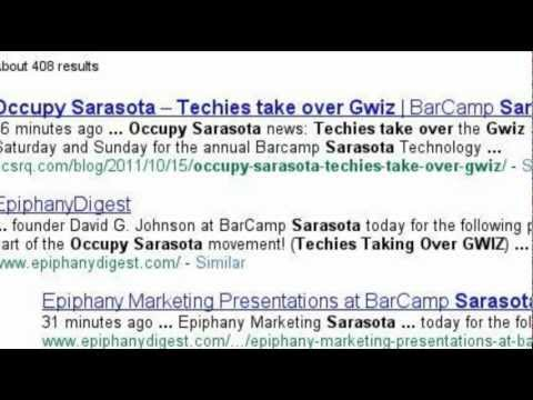 Occupy Sarasota - Techies Take over G Wiz Science Musesum