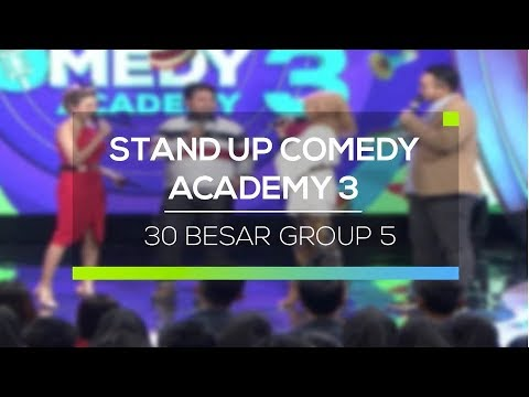 Highlight Stand Up Comedy Academy 3 - 35 Besar Group 5