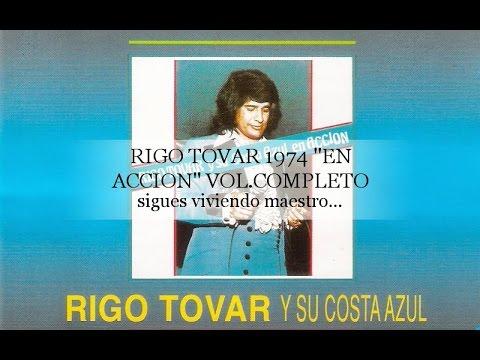 RIGO TOVAR Y SU CONJUNTO COSTA AZUL EN ACCION CD COMPLETO 1974