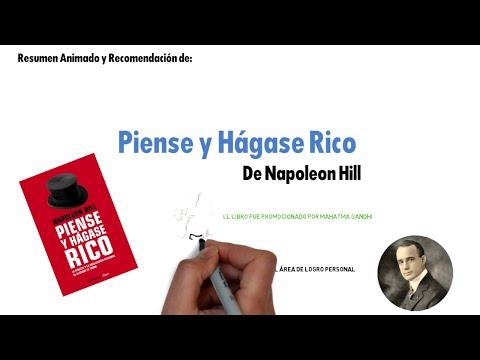 PIENSE Y HÁGASE RICO DE NAPOLEON HILL | RESUMEN ANIMADO