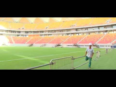 World Cup 2014: The unfinished World Cup venues