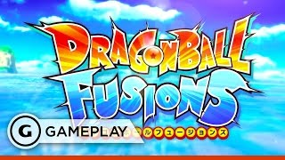 Dragon Ball Fusions 3DS - Offscreen Gameplay