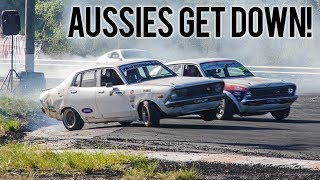 First Australia Drifting Trip - Inside look at VERY unique cars!