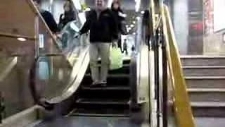 Mini escalera mecánica
