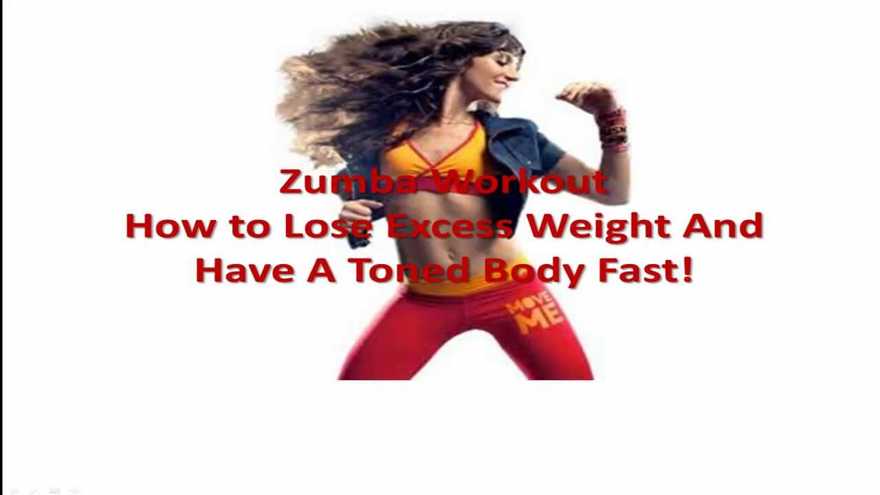 Zumba Workout Lose Weight and Get Toned Fast
