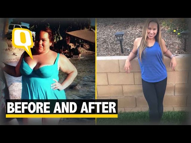 The Quint: Weight Loss Diary: Woman Documents Massive Shift From Fat To Fit