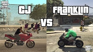 CJ vs Franklin - Who does it better? (PART 2)