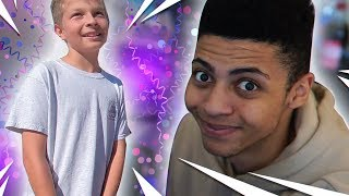 SURPRISING A FAN ON HIS BIRTHDAY! - VLOG #009