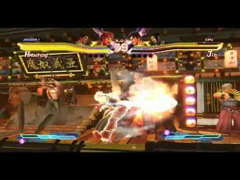Street Fighter x Tekken (Gameplay de Teste)