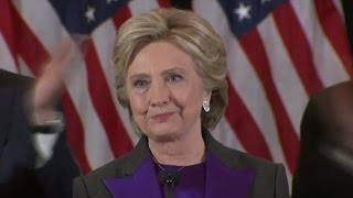 Full Event: Hillary Clinton FULL Concession Sch | Election 2016