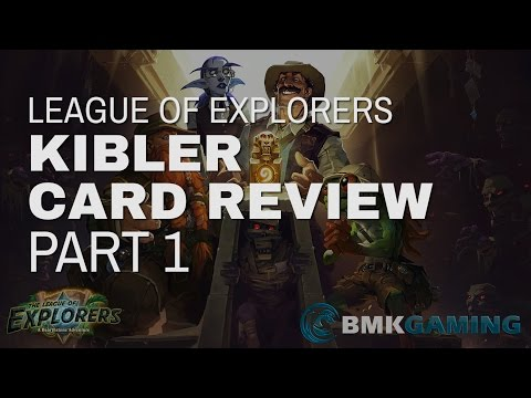 (Hearthstone) League of Explorers Review Part 1: Class Cards