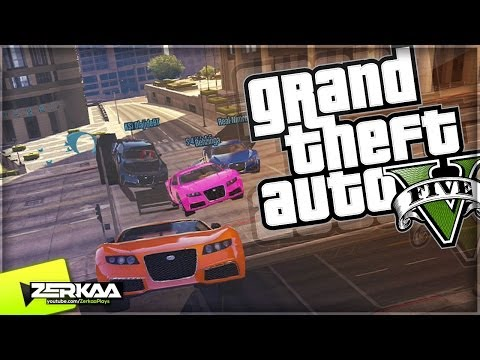 "GTA V Online Funny Moments | ""INSANE JUMP RACE"" | E049 (GTA 5)"
