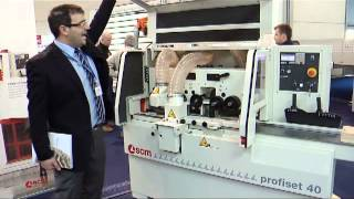 SCM Profiset Planer & Moulder | Scott+Sargeant Woodworking Machinery
