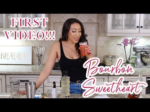 Liz Does Cocktails: Bourbon Smash (FIRST EVER EPISODE!!!)