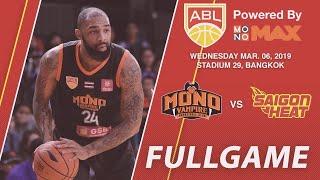 Mono Vampire vs Saigon Heat | FULL GAME | 2018-2019 ASEAN Basketball League