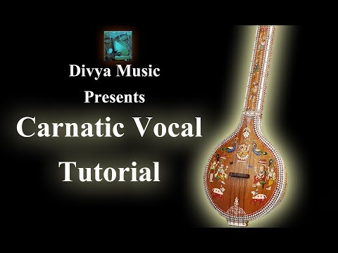 Learn how to sing Carnatic vocal music online lessons Kannada...