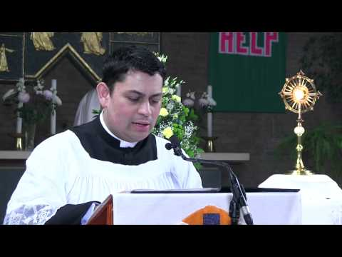 In Imitation of Mary: Sermon by Fr Gerard Hatton.  A Day With Mary