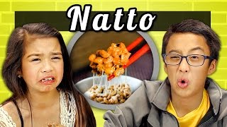 KIDS vs. FOOD # 10 - NATTO
