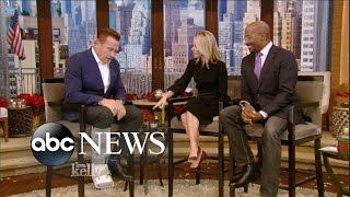 Arnold Schwarzenegger Explains What Happened to Broken Leg