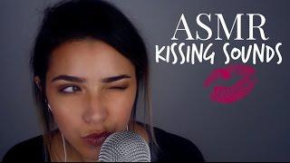ASMR Kissing Sounds + Breathing sounds