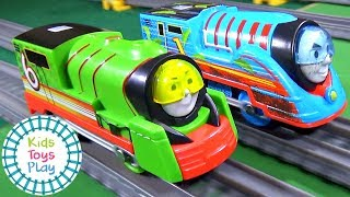 Which Thomas Trackmaster TURBO SPEED Engine is the Fastest? | Thomas and Friends Train Races