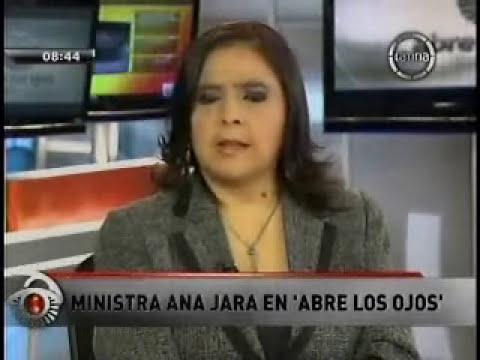 Entrevista a la ministra de la Mujer y Poblaciones Vulnerables en 'Abre los Ojos' - 24 Junio 2013