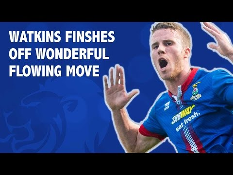 Watkins finshes off brilliant flowing move