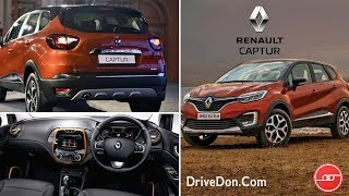 Renault Captur 2019 - SUV Cars Under 10 Lakhs In India