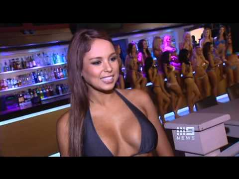 Australian Swimsuit Calendar feature on Ch 9 Gold Coast News June 29, 2011