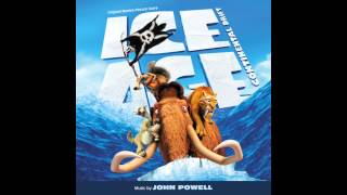 Ice Age: Continental Drift - Ice Age: Continental Drift Soundtrack - 10 Pirating the Pirates [John Powell]