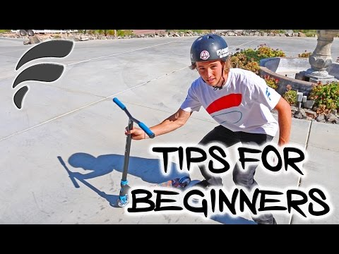 TOP 5 EASIEST/BASIC SCOOTER TRICKS (HOW TO)