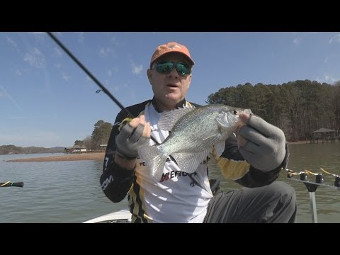 Fox Sports Outdoors SOUTHEAST #3 - 2014 Weiss Lake, Alabama Crappie Fishing
