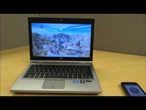 HP EliteBook 2570p Video Review