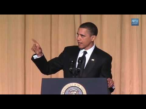 Obama Jokes For Press- Full Video